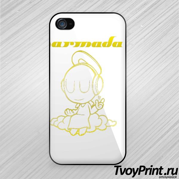 Чехол iPhone 4S Armin Van Buuren Armada