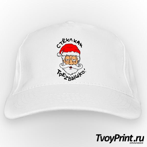 Бейсболка Пьяный Дед Мороз