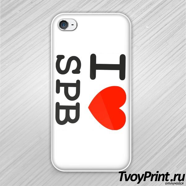 Чехол iPhone 4S Санкт-Петербург