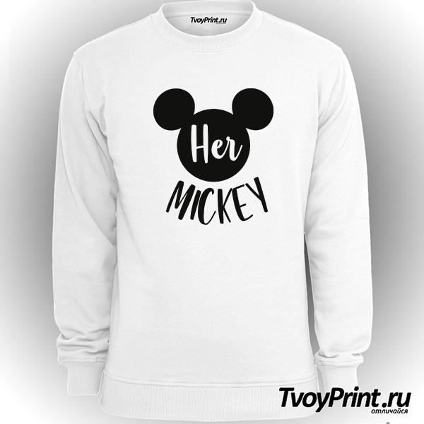 Свитшот Her mickey