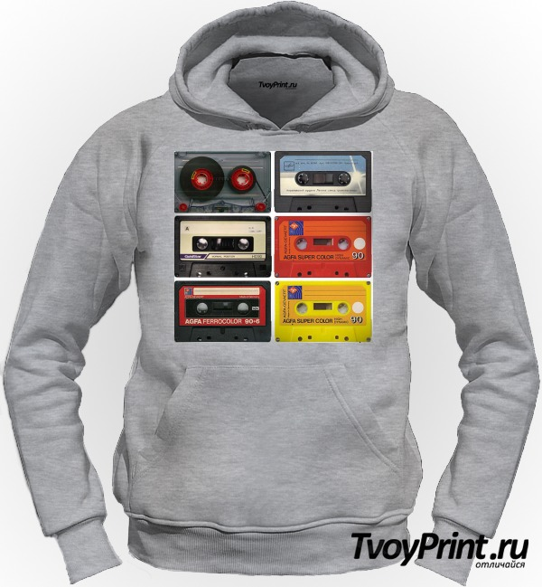 Толстовка Аудиокассета