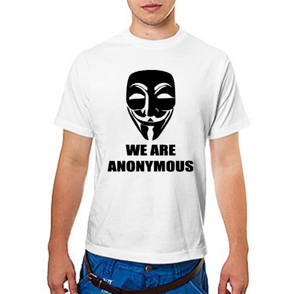Футболка We are anonymous