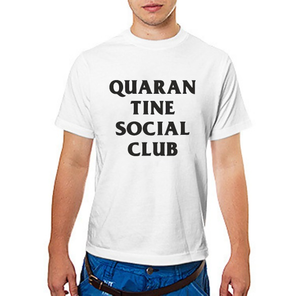 Футболка QUARAN TINE SOCIAL CLUB