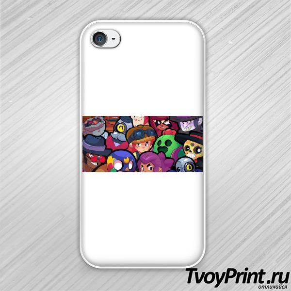 Чехол iPhone 4S brawl stars 2