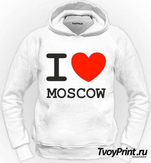 Толстовка Москва