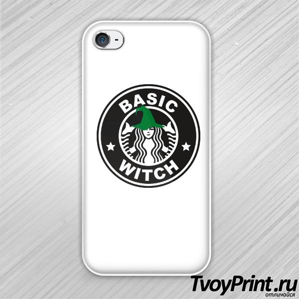 Чехол iPhone 4S Basic witch