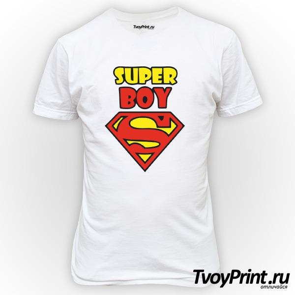 Футболка Super boy