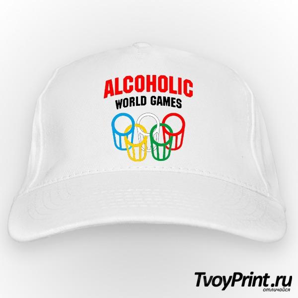 Бейсболка Алкоголик