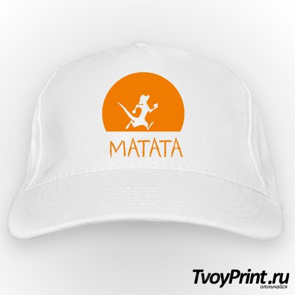 Бейсболка HAKUNA MATATA (тимон)