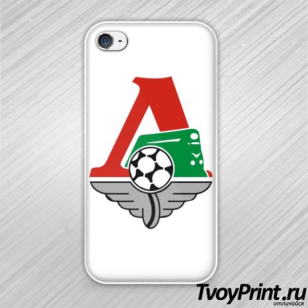 Чехол iPhone 4S Локомотив (1)