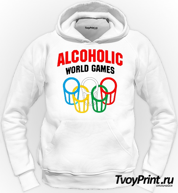 Толстовка Алкоголик