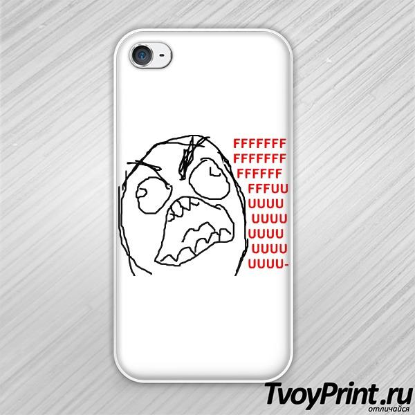 Чехол iPhone 4S FFFUUU
