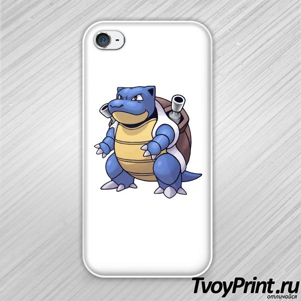 Чехол iPhone 4S Бластойз ( Blastoise) покемон