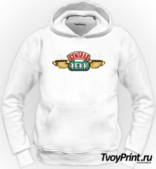 Толстовка central perk logo