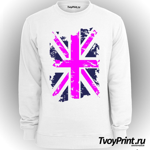 Свитшот Флаг Великобритании (роз.)
