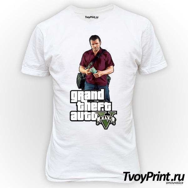 Футболка GTA 5: Michael