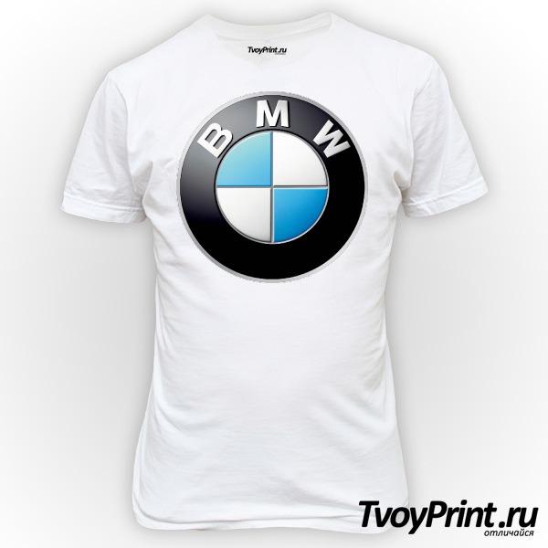 Футболка Логотип BMW значок