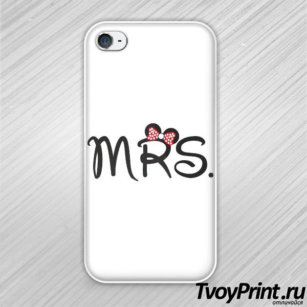 Чехол iPhone 4S Миссис Маус (жен.)