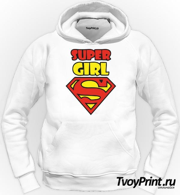Толстовка Super girl