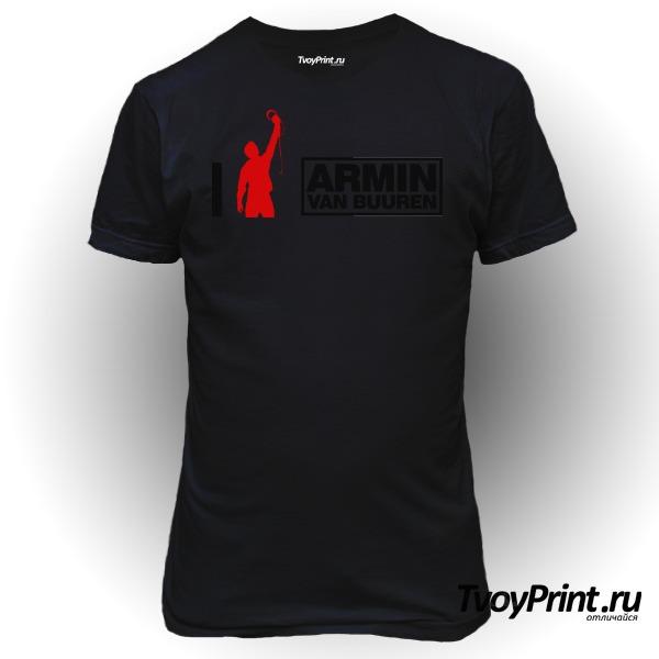 Футболка Armin Van Buuren