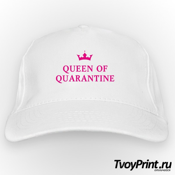 Бейсболка QUEEN OF QUARANTINE