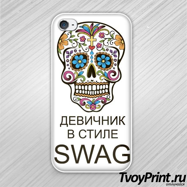 Чехол iPhone 4S Девичник в стиле Swag