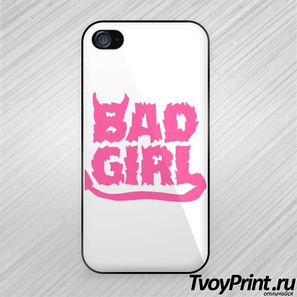 Чехол iPhone 4S Bad Girl