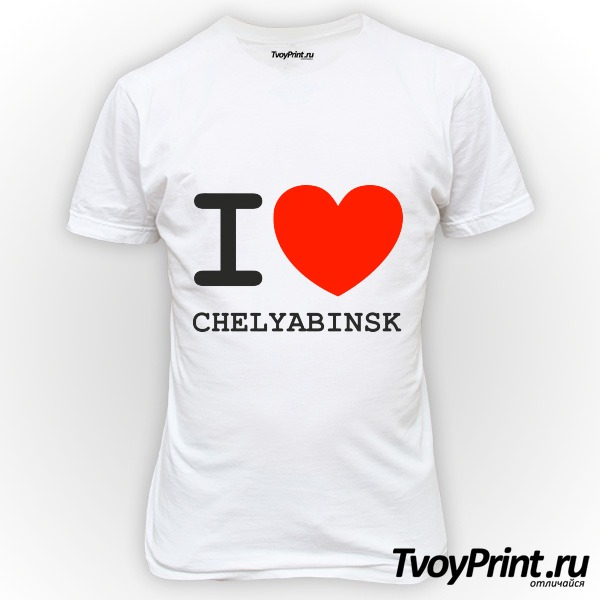 Футболка Челябинск