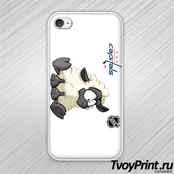 Чехол iPhone 4S Овечкин (1)