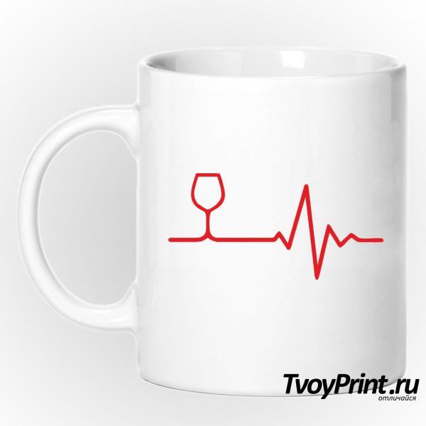 Кружка Вино в сердце